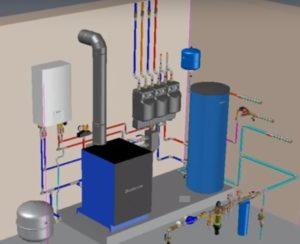 Проектирование котельных и тепловых пунктов схема